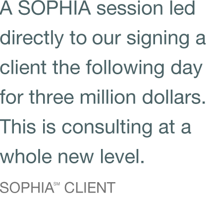 PhilosophyCenter | SOPHIA℠ Consulting
